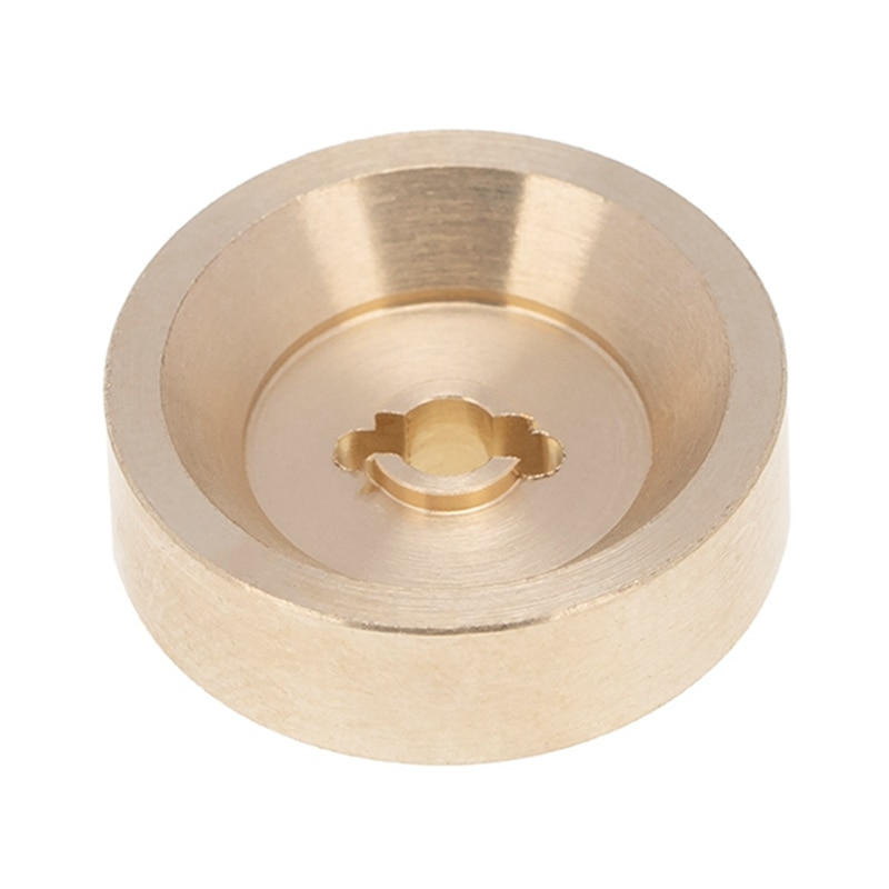 6mm Thick Brass Brake Disc Wheel Hex Adapter Combiner for 1/24 RC Crawler Car Axial SCX24 90081 Upgrade Accessories enlarge