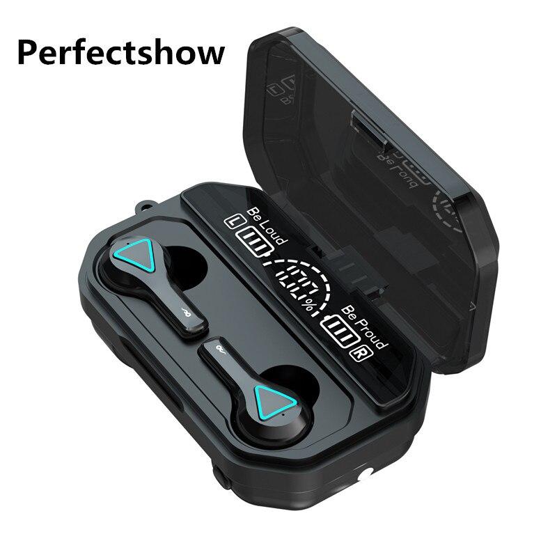 Fones de Ouvido sem Fio Fones de Ouvido Fone de Ouvido sem Fio Fone de Ouvido Esporte com Microfone Bluetooth Estéreo Auriculares Tws