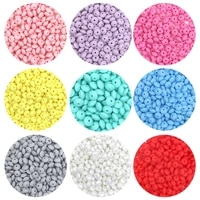 sunrony 50pc 12mm silicone lentil beads multi color abacus loose eco friendly beads diy pacifier chain nursing baby teether toys