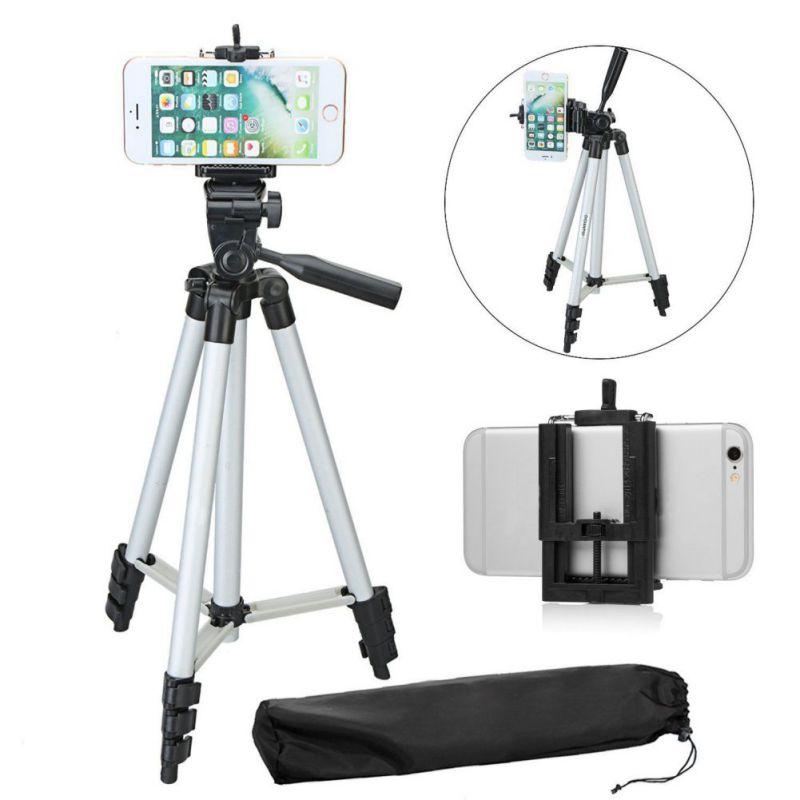 Universal Phone Selfie Stick Camera Tripod 23-50 Inch Aluminum Tripod For Gopro iPhone Xiaomi SamSung HuaWei New