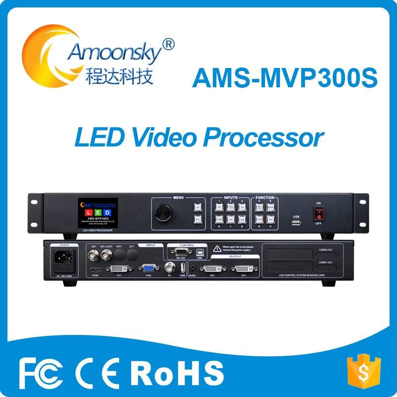 Nuevo Producto led controlador de pantalla mvp300s ampliar SDI similares kystar ks600 procesador de vídeo scaler para programable pantalla led