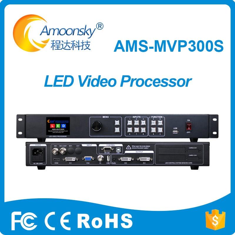 Procesador de vídeo LED mvp300s profesional de fábrica compatible con el transmisor linsn nova colorlight tarjeta dbstar para pantalla de visualización a todo color