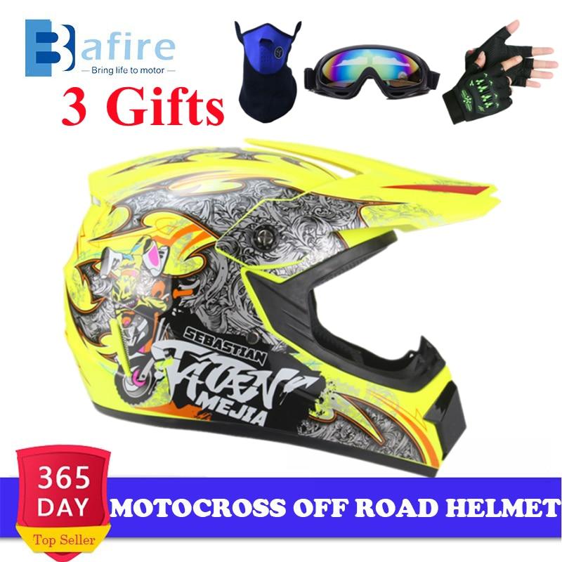 Мотоциклетный шлем, универсальный шлем для взрослых для мотокросса, бездорожья, квадроцикла, байка-байка, катера, горного, DH, унисекс, гоночн...