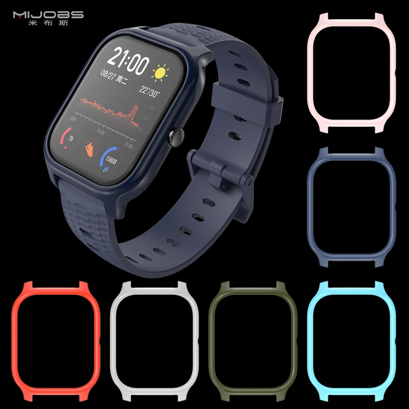 For Amazfit GTS Case TPU Protective Frame Bumper for Xiaomi Huami Amazfit GTS Smart Bracelet Plastic PC Protector Cover Cases on AliWatcher