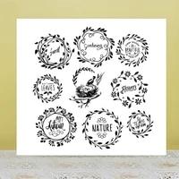 azsg bird garland egg clear stampsseals for diy scrapbookingcard makingalbum decorative silicone stamp crafts