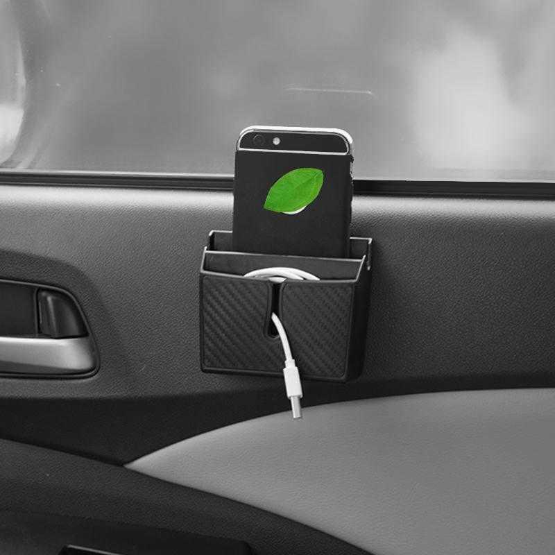 Interieur Hidden Auto Organizador Asiento Accesorios Coche Interior Organizer Car Accessories Universal Seat Gap Storage Box enlarge