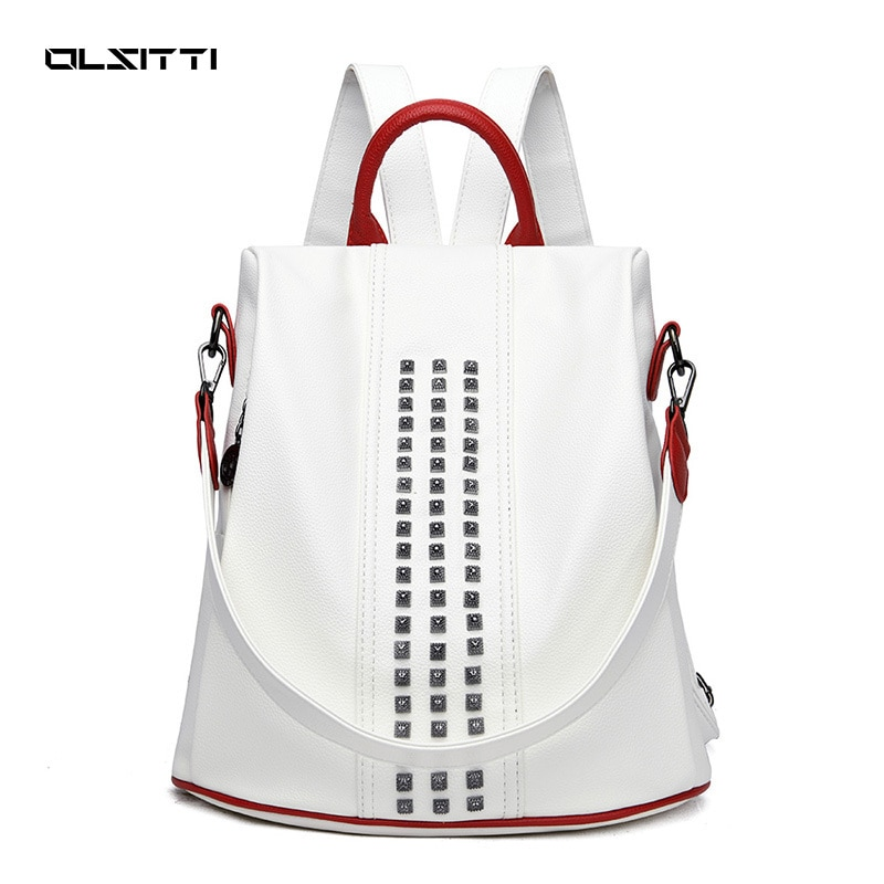 OLSITTI Large Capacity Fashion Travel Backpacks for Women 2021 New Women Backpack High Quality Casual Concise Shoulders Bags kujing multifunctional backpacks high quality women backpack cheap trend female student bags hot women travel casual backpack