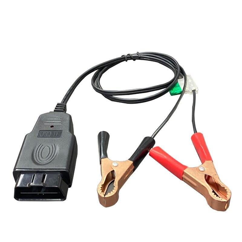 Автомобильный адаптер OBD2 ECU для экономии памяти, инструмент для замены аккумулятора, автомобильный адаптер для экстренного источника питания OBD2 II, кабель для автомобиля