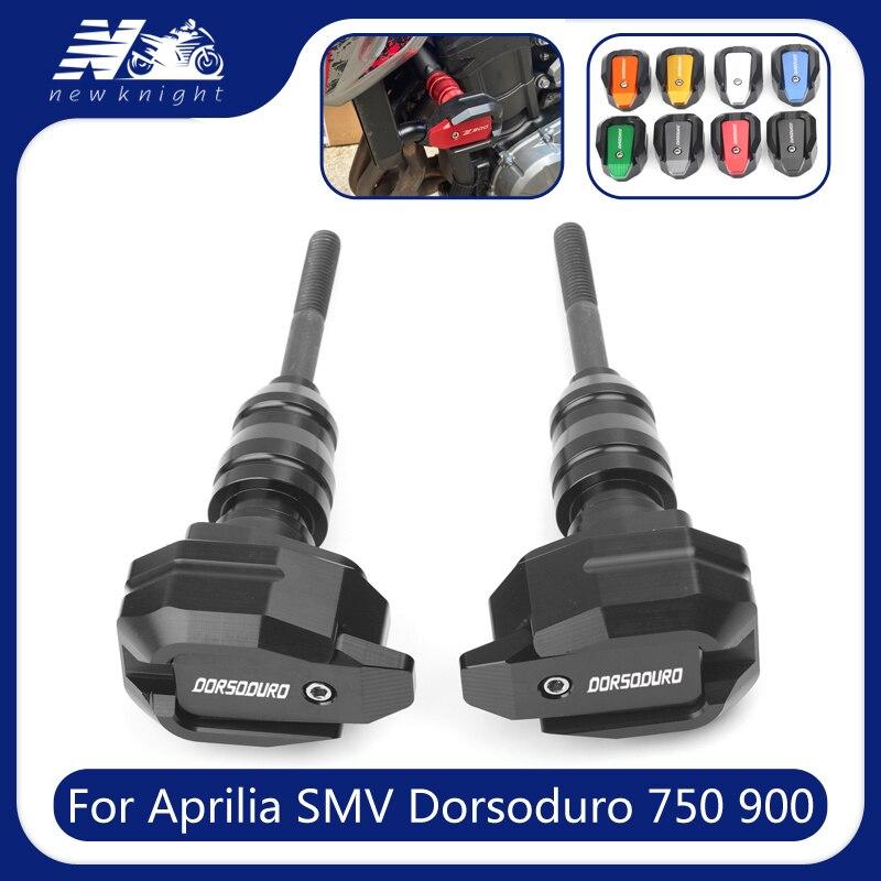 إطار حماية للدراجات النارية CNC من السقوط ، لـ Aprilia SMV Dorsoduro 750 900 1000 ، انسيابية ضد الصدمات
