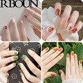 Накладные ногти с клеевым покрытием, искусственная коробка на ногтях, накладные ногти, пресс для гроба, стики, прозрачный дисплей, набор искусственных ногтей - фото