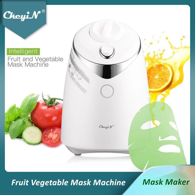 CkeyiN-آلة قناع الفاكهة والخضروات الأوتوماتيكية ، DIY ، العناية بالوجه ، آلة التجميل ، صنع كريم الكولاجين الطبيعي