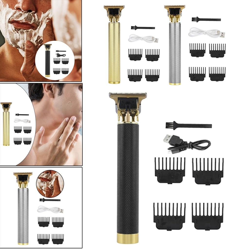 Wireless Beard Trimmer Precision Professional Zero Gap Dial Men Shaver Beard Razor Mustache Grooming