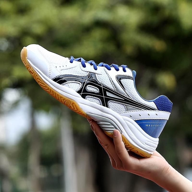 Бадминтонные кроссовки для помещений, настольные теннисные кроссовки с подушкой для начального уровня, легкая атлетика