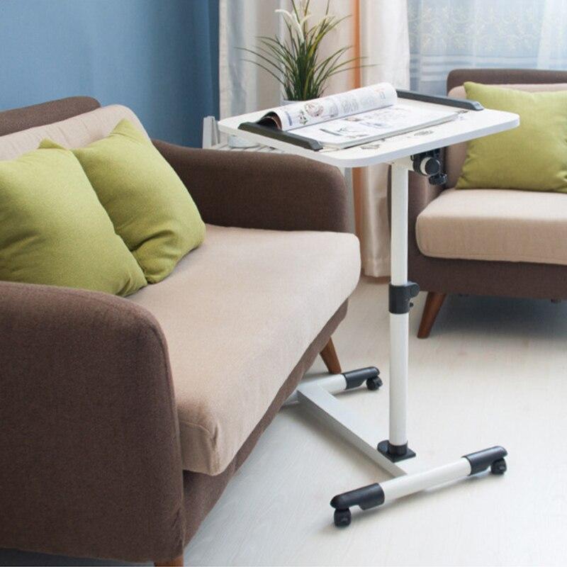 Escritorios Ordenador de pie, Mesas de cama movibles, mesa de estudio de altura ajustable, escritorio de oficina de elevación portátil