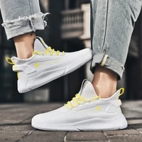 light men women sport shoes high top air cushion sneakers couples mesh breathable running shoes outdoor lace up men casual shoes