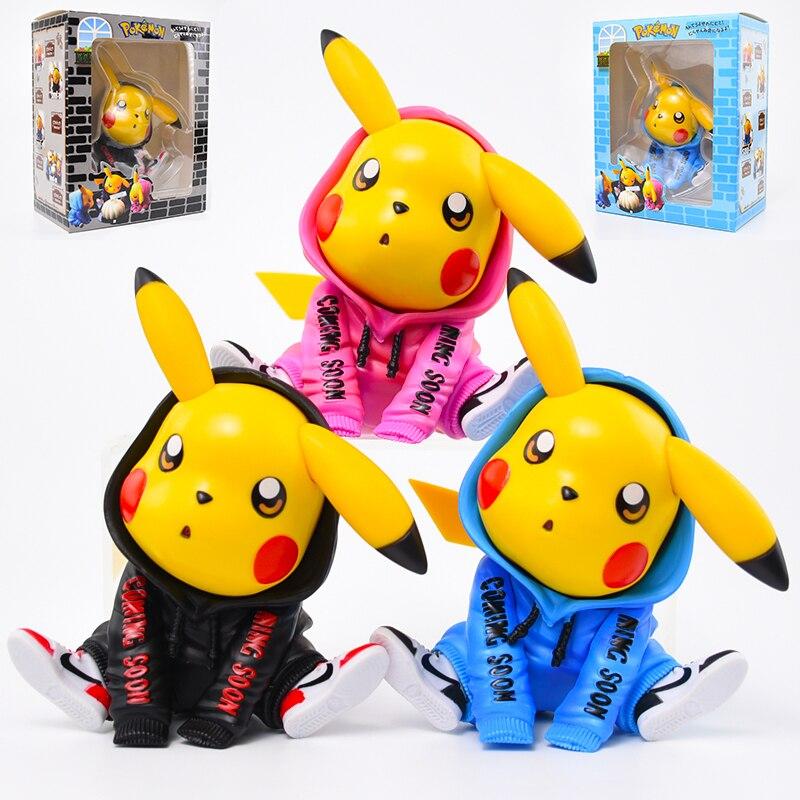 1 шт. Takara Tomy Pokemon Go коллекционные модели 12 см покемон модные Аниме фигурки Пикачу игрушки куклы Рождественские подарки для детей