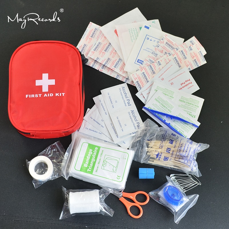 AliExpress - 120pcs/pack Safe Camping Hiking Car First Aid Kit Medical Emergency Kit Treatment Pack Outdoor Wilderness Survival