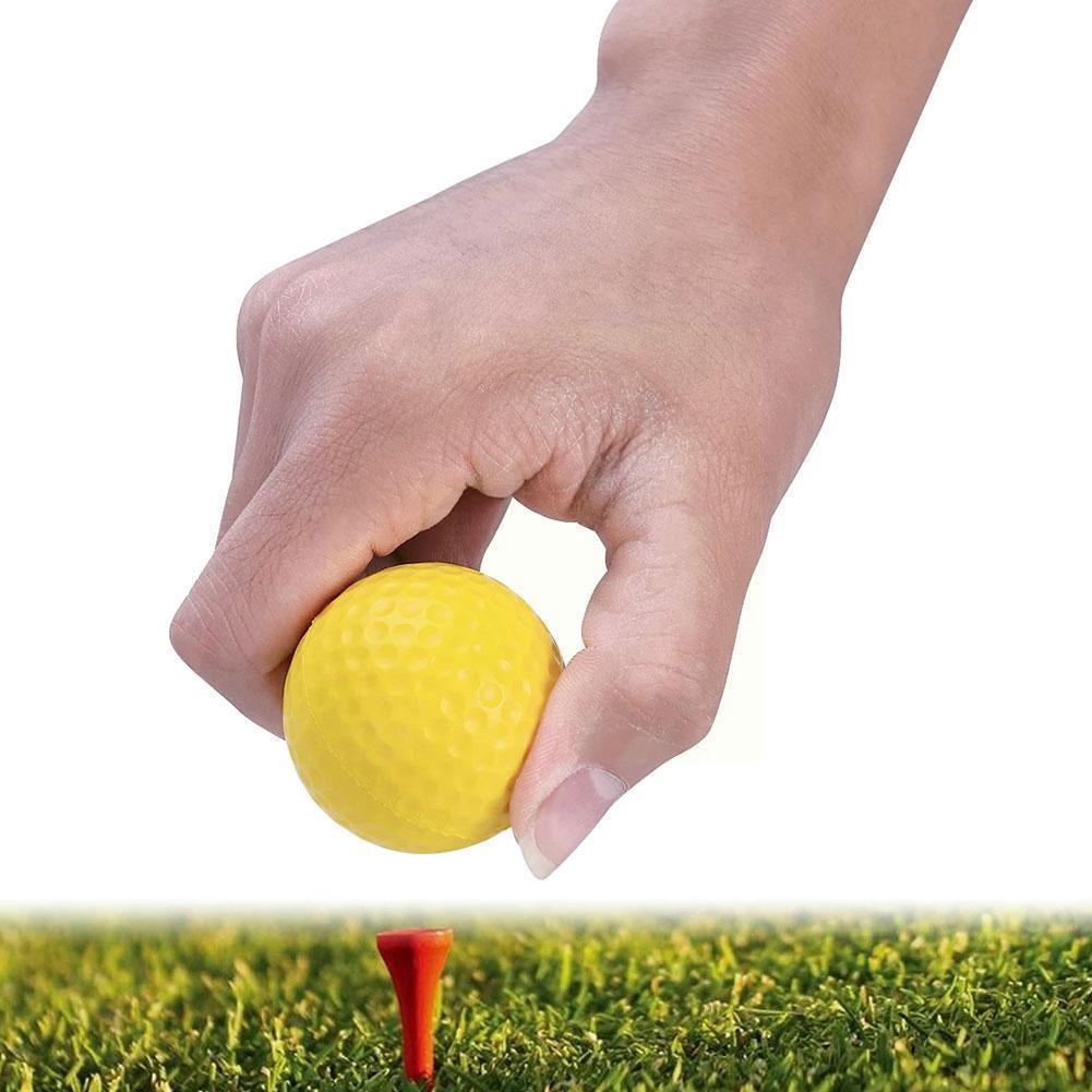 Мячи для тренировки игры в гольф, мягкие мячи из полиуретана, мячи для тренировок в помещении, мячи для упражнений, мячи для игры в гольф из п...