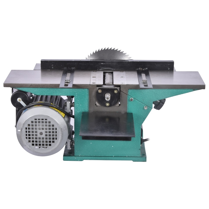 220V 3800r/min Multifunctional Woodworking Saws Desktop Electric 120A Wood Planer Planing Machine With Backing and 1.3KW Motor enlarge