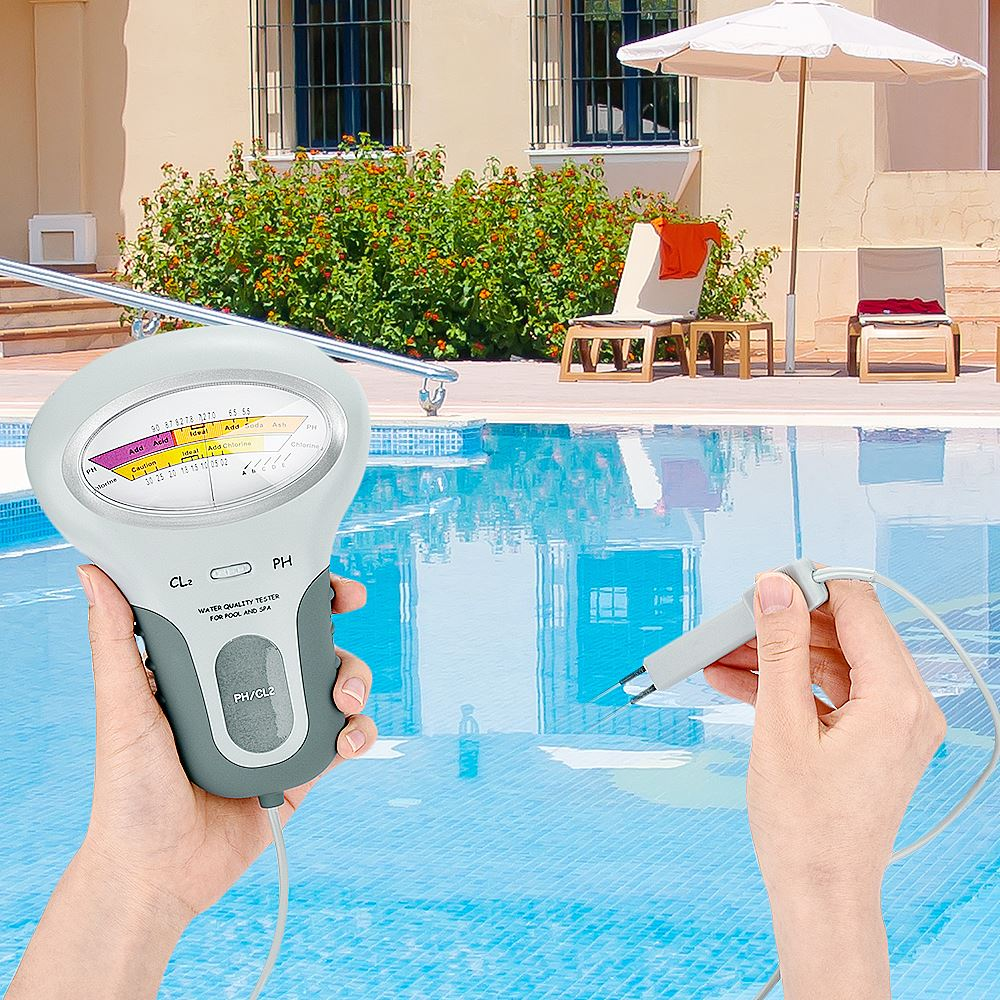 Digital Medidores de PH PH Testador PH & Cloro Cloro 2 Em 1 Testadores CL2 Medição do Dispositivo de Teste de Qualidade da Água Para Piscina Aquário