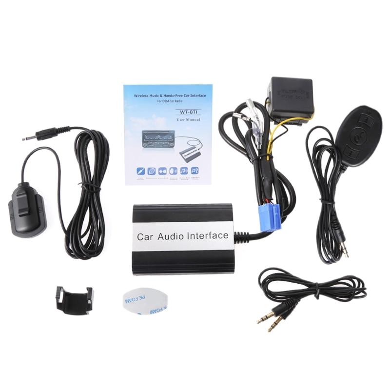 1 комплект Handsfree Car Bluetooth наборы MP3 AUX адаптер Интерфейс для Fiat для Alfa Romeo