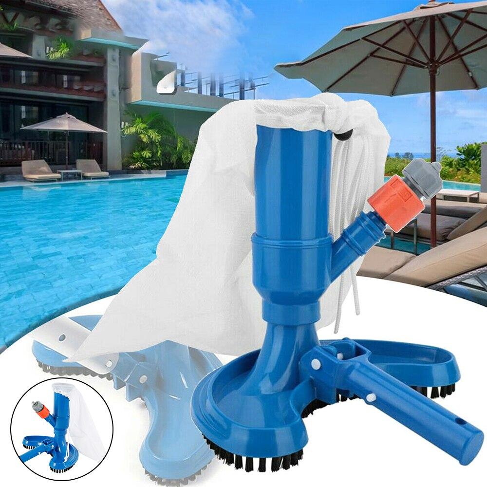 Limpiador de cabeza de aspiradora para piscina, herramienta de limpieza sobre el suelo, cabezal de succión para piscina, accesorios para estanque de Spa