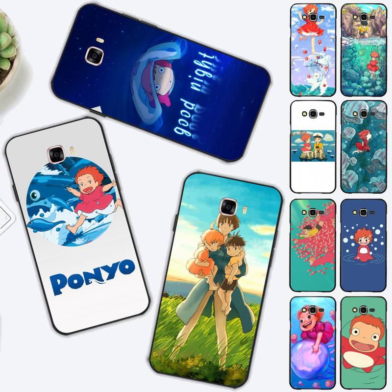 FHNBLJ-funda de teléfono con dibujos animados para Samsung J4 plus, J2prime, J5,...