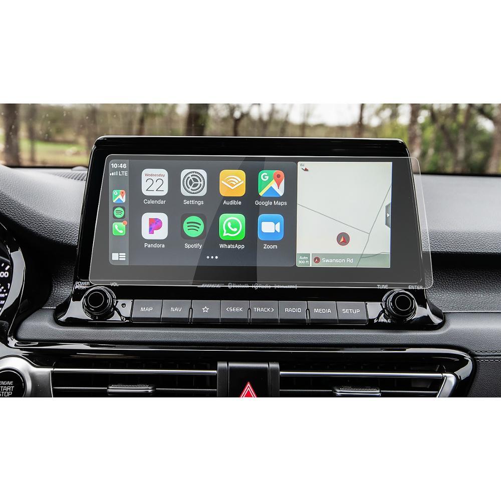 RUIYA Auto Screen Protector Für Seltos 2021/Celltos 10,25-Zoll Hohe Spiel Navigation Touch Zentrum Display Auto Innen aufkleber