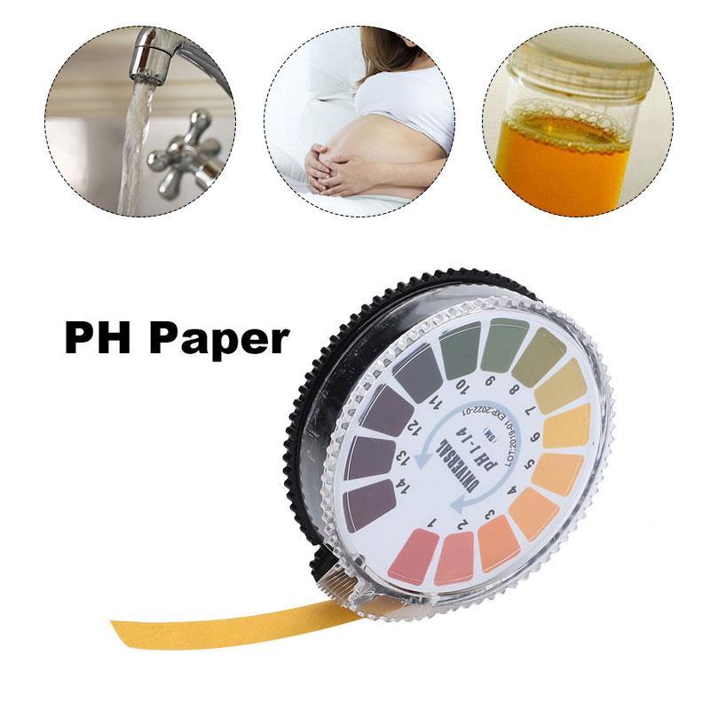Varilla de medición de orina a Base de ácido Testpaper Ph-014 prueba de calidad de agua líquido amniótico urinario Ketone papel práctico para Diabetes