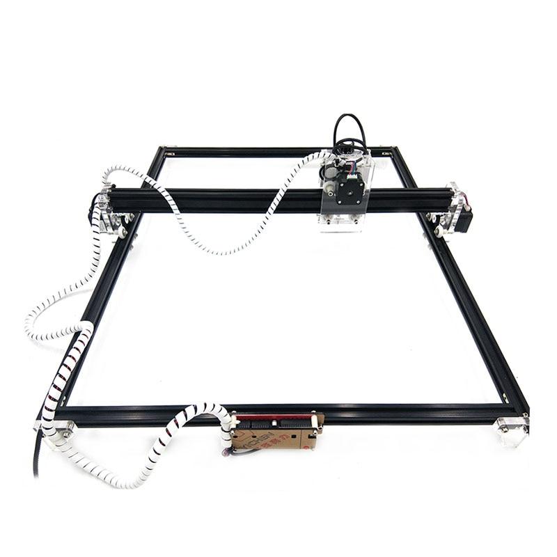 1 قطعة 50*65 سنتيمتر البسيطة الأزرق CNC ماكينة الحفر بالليزر 2 محور DC 12V DIY حفارة سطح المكتب جهاز توجيه الخشب/ القاطع/طابعة + الليزر