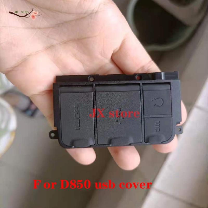 الأصلي استبدال الكاميرا إصلاح لنيكون D850 HDMI MIC USB غطاء المطاط إصلاح جزء