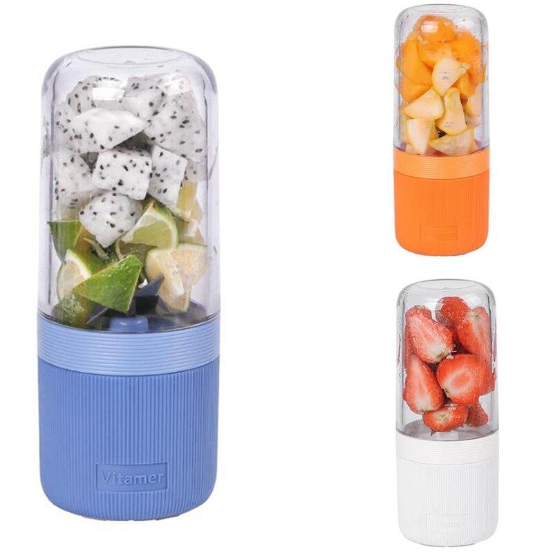 عصارة لاستخراج العصائر خلاط صغير محمول USB صانع عصير خلاط خلاط المحمولة ماكينة عصر عصير الفاكهة