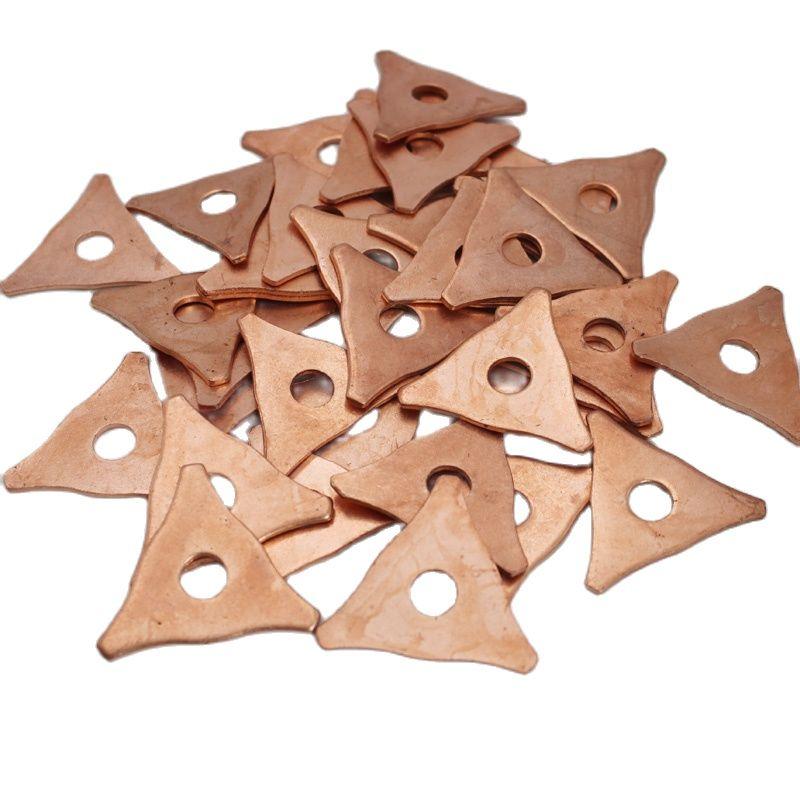 100PCS Triangle Pads For Car Body Spot Welding Repair Dent Spotter Welder Accessories