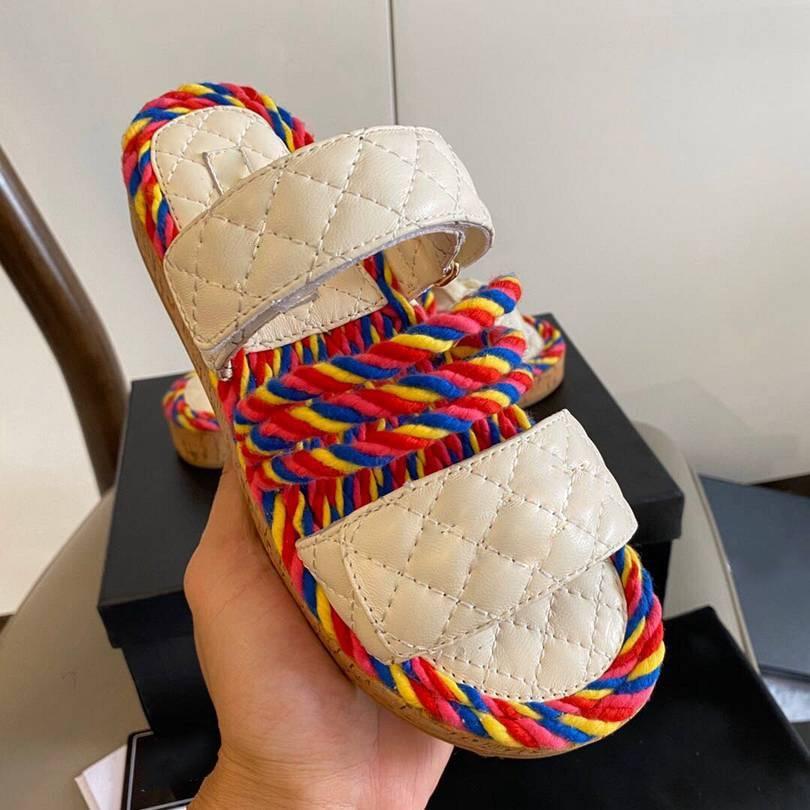 New  Women Shoes Sandals fashion Flat Ladies Sandalias Slip-Proof Muffin Bottom Female Shoes Fashion Beach Casual Zapatos Mujer