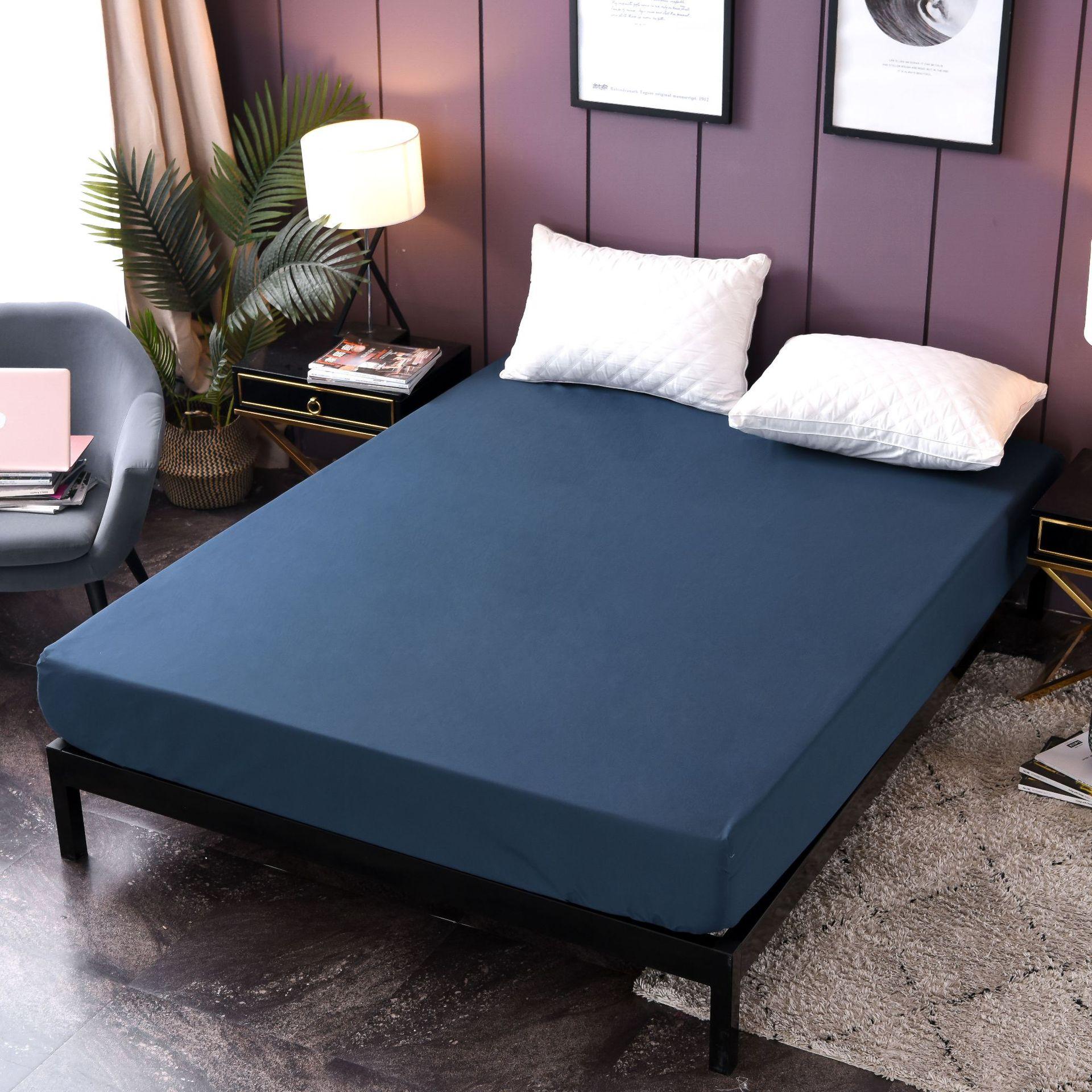 السرير غطاء فراش (مرتبة) السرير يغطي حامي للماء عدم الانزلاق فراش توبر ل سرير بيدكوفير بطانية سرير