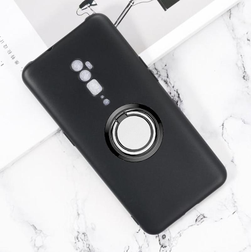 """Para oppo reno 10x zoom voltar anel suporte da caixa do telefone capa tpu casos de silicone macio para oppo reno 5g 6.6"""""""