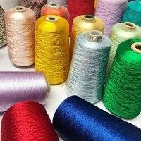 500g pure tencel thread gloss thread pearl lace cotton thread drape texture handmade crochet shawl scarf garment sewing thread