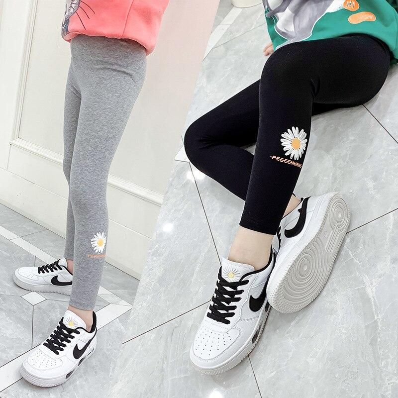 Baby Girls Spring  Leggings for Children Pants Teenage Fashion School Trousers Kids Sport
