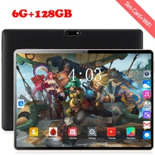Newest 10 Inch tablet Android 8.0 10 Core 6GB RAM 128GB ROM 3G 4G FDD LTE Wifi Bluetooth GPS Phone c
