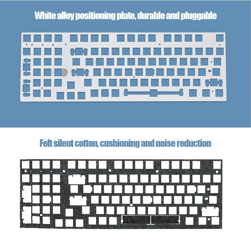 SKY980 Hot Swap Mechanical Keyboard Kit Wireless 3 Mode RGB Compatiable With 3/5 Pins For Cherry Gateron Kailh Keyboard enlarge