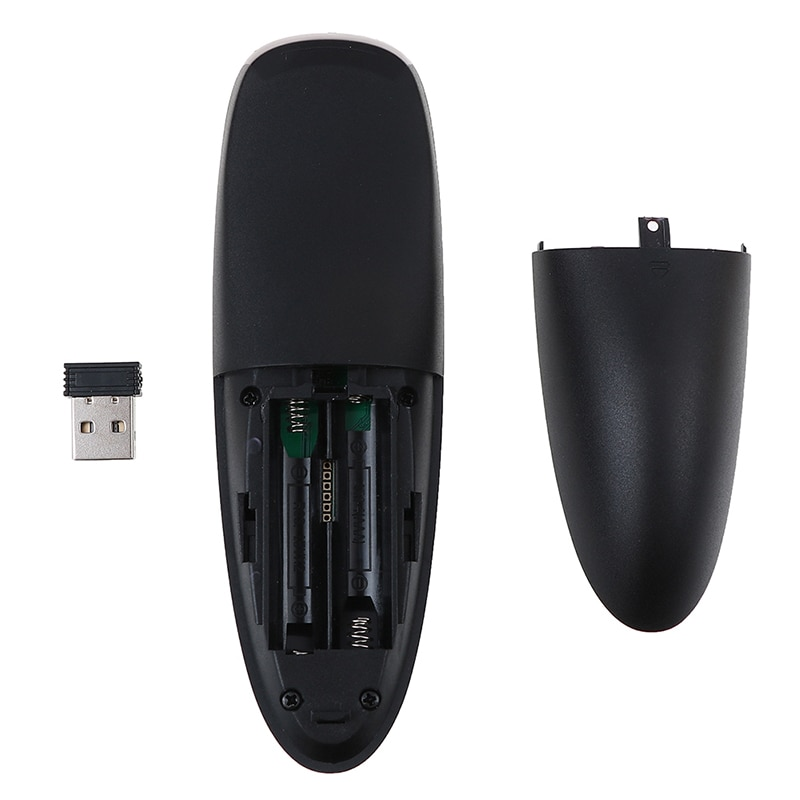 Купить с кэшбэком G10 Air Mouse Voice Control 2.4GHz Wireless Google Microphone USB Receiver Gyro Sensing Smart Remote Control for Android TV BOX