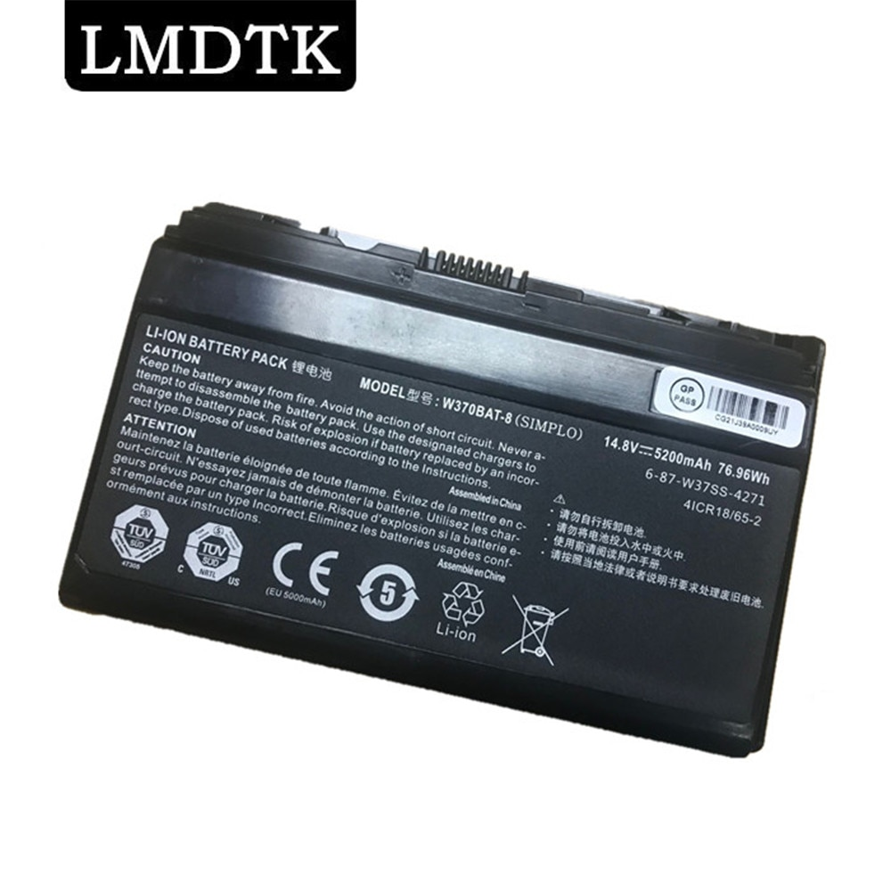 LMDTK جديد بطارية كمبيوتر محمول ل Hasee W370BAT-8 K590S K650C K750S K760E 14.8v