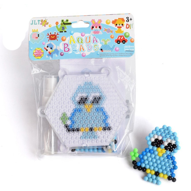 Juego de cuentas neblina Hama, juguete con cuentas Hama, Puzzle 3D DIY, juguete educativo para niños, juguete para regalo