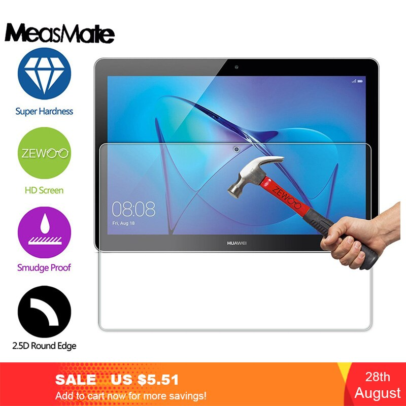 Закаленное стекло 9H для Huawei Mediapad T3 7,0 8,0 10,0, защитная пленка для экрана планшета Huawei Mediapad T3 10