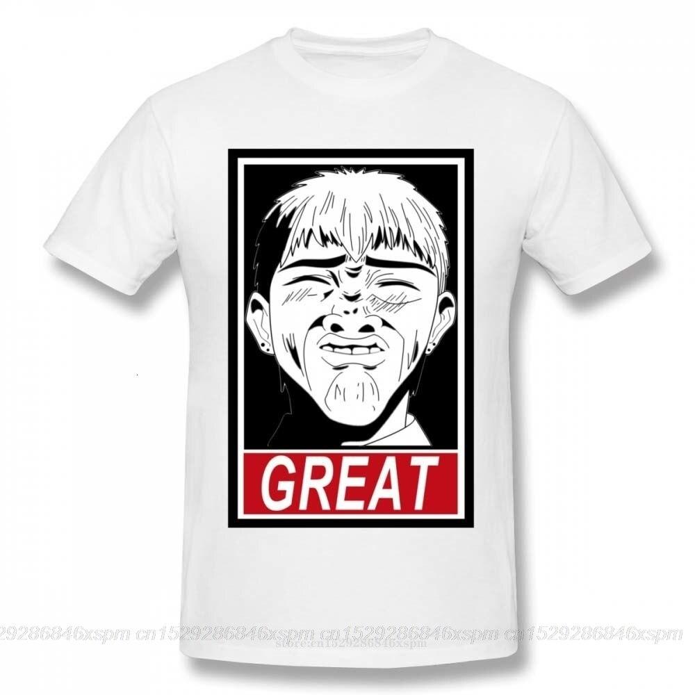 Camiseta personalizada de Anime one yona Great Teacher Onizuka GTO, 3D Camiseta con estampado, Top diseño para hombre, camiseta gráfica Eikichi Onizuka