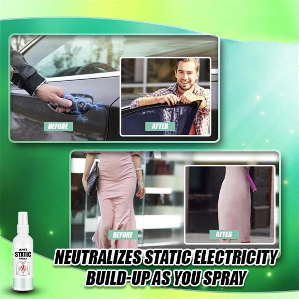 Paño antiestático Spray para el cabello elimina de forma efectiva la sujeción estática de 30/100ML de ocio de moda conveniente práctica muy bien