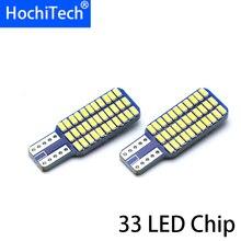 Top Qualität Universal Canbus Fehler Kostenlose 12V 33 SMD Chip LED T10 W5W Birne Weiß Kristall Blau Lizenz Platte licht Innen Licht