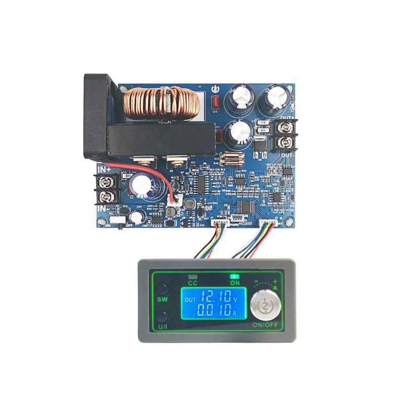 WZ5020L 20A 1000 واط تيار مستمر تيار مستمر محول فرق الجهد CC CV تنحى وحدة الطاقة قابل للتعديل الجهد موفر طاقة تنظيمي