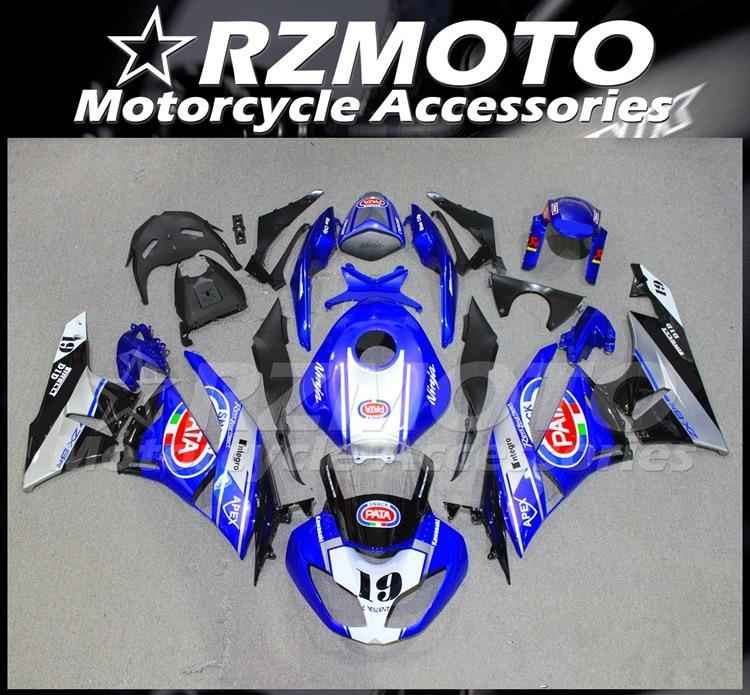 Kit de carenados completos ABS para motocicleta Kawasaki Ninja ZX-6R, 636, 09,...