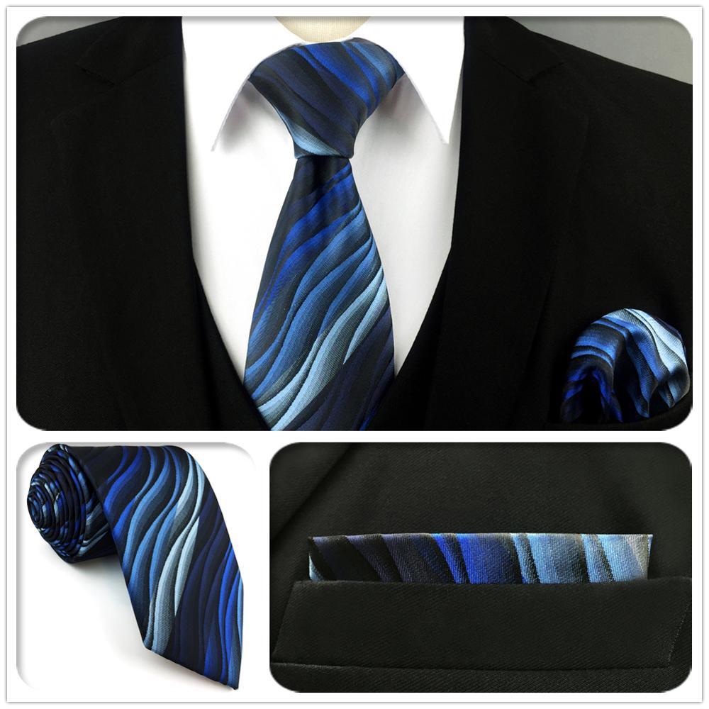 Мужские галстуки U23, шелковые галстуки ручной работы с постепенным изменением ряби, классический свадебный галстук, узкие галстуки